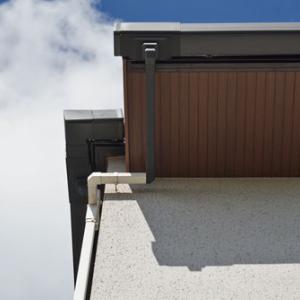 住友林業の注文住宅|雨どいは何色にする?2色の縦樋