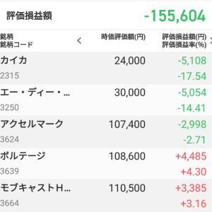 株(10/15~10/18)-1,834