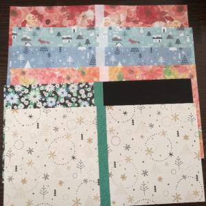 折り紙でブックカバー&しおりを作りました