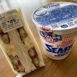 サンドイッチにイカ!!!