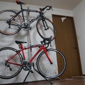 ロードバイクを室内保管するためにサイクルスタンドを買ってみました。