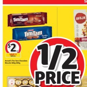 【ニュース】TimTam半額($2.00)セール、コールズで29/Jun/2021まで