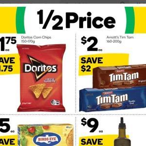 【ニュース】TimTam半額($2.00)セール、ウールワースで14/Sep/2021まで