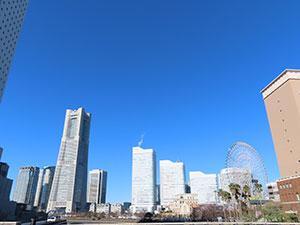 横浜散策。