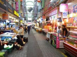 釜山の名所?富平カントン市場、国際市場、そして釜山港からの眺め