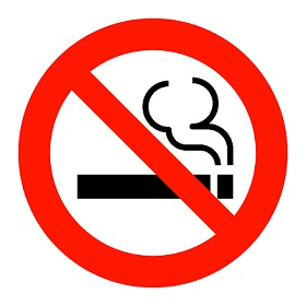 夏の喫煙ルーム