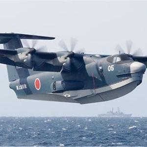US-2は水陸両用の飛行艇