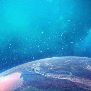 地球の周りの宇宙空間