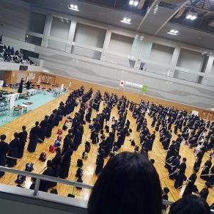 旧正月の剣道大会