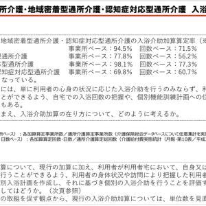 【加算の解説】デイサービスから入浴が無くなる日が来る!?