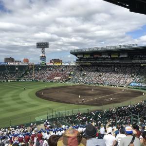 甲子園球場と高校野球!