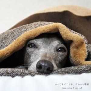 いつでもどこでも、ふわっと寝袋「軽くて持ち運びも快適」|ワイドボーダーボア生地