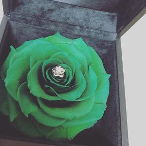 【婚約指輪】ダイヤモンドプロポーズからの指輪選びのこと♡【キラキラリーン】