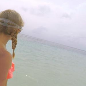 【宮古島2日目】吉野海岸でシュノーケリング【家族連れにも安心でサーファーにも人気のビーチ】