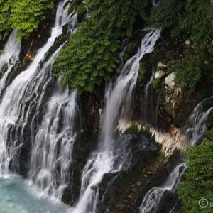 白髭の滝 ~十勝岳連峰へ行った帰りにお立ち寄り!白金温泉街にあるお手軽な美滝へ~