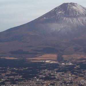 〔300名山〕金時山_リハビリ登山 ~富士山はびっくり雪少なし~