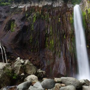 〔100名瀑〕常布の滝 ~草津白根山山麓の秘瀑!藪を漕いで滝壺まで~
