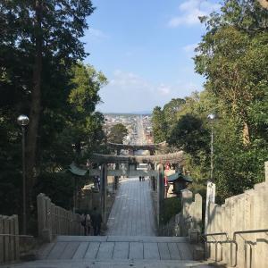 【福岡/宮地山・在自山】嵐のCM「光の道」で有名な宮地嶽神社に登ろう!