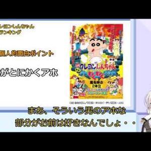 個人的笑えるクレヨンしんちゃん映画ランキング!