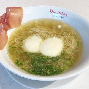 大阪城公園のJO-TERRACEにある「黄金の塩らぁ麺ドゥエイタリアン」さんに行って来た!