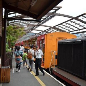 2012年9月23日嵯峨野駅から亀岡までトロッコ列車に乗ってきた!