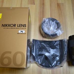 2012年12月12日らっき~AF-S Micro NIKKOR 60mm f/2.8G EDを買った!