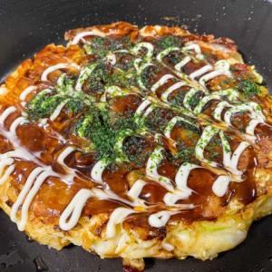 近畿大学周辺の老舗グルメ食べ歩きで、お好み焼きの「てらまえ」さんに行って来た!