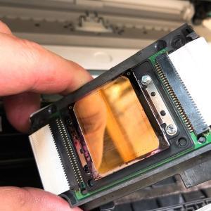 EPSONインクジェットプリンターEP-708Aのインクヘッドクリーニング