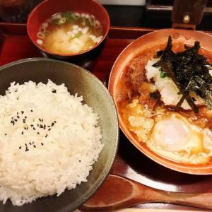 梅田スカイビルのB1F、滝見小路にあるカツ丼のお店「喝鈍」さんに行って来た!