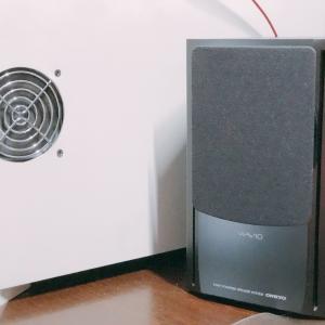 ONKYO(オンキョー、音響)さんのハイレゾスピーカー、WAVIO 77monitorアンプ内蔵「GX-77M」を買った!