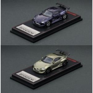 【明日発売?】(ignition model)1/64 PANDEM TOYOTA 86 V3 グリーンメタリック/パープルメタリック(10/19発売?)