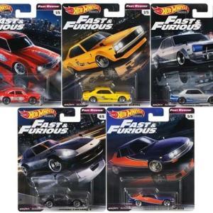 【予約受付中】(Hot Wheels)ワイルド・スピード アソート Fast Rewind(10月発売)