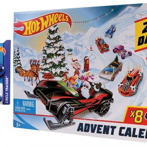 【明日発売】(Hot Wheels)ホットウィール HW アドベントカレンダー ギフトセット FYN46-CWT63+スペシャルエディションミニカー付き(11/15発売)