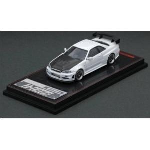 【予約受付中】(ignition model)1/64 Nismo R34 GT-R Z-tune White(2月発売)