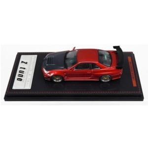 【予約受付中】(ignition model)1/64 Nismo R34 GT-R Z-tune Red Metallic(宮沢模型(株)流通限定商品)(12月発売)