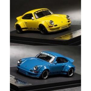 【予約受付中】(ModelCollect)RWB 930 Ducktail Wing Yellow/Blue(1月発売)