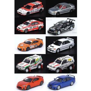 【予約受付中】(INNO MODELS)ホンダ シビック/トヨタ アルテッツァ/トヨタ GT86/三菱 ランサー エボリューション(全10車種)(3月発売)