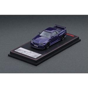 【販売中】(ignition model)Nismo R34 GT-R Z-tune Purple Metallic(5/17発売)