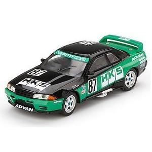 【予約受付中】(MINI GT)Nissan GT-R R32 HKS 全日本ツーリングカー選手権 1992 Gr.A #87(右ハンドル)(6月発売)