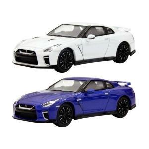 【販売中】(京商)ニッサン GT-R (ホワイト/ブルー)(5月発売)