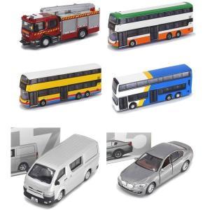 【予約受付中】(TINY)ポンプ車/バス/ハイエース/BMW(7月発売)