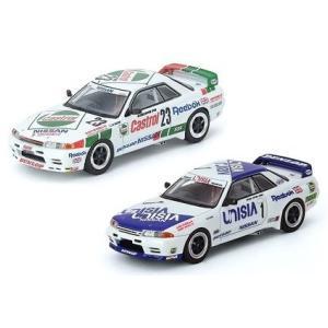 【予約受付中】(INNO MODELS)スカイライン GT-R R32 #23 CASTROL マカオ ギアレース 1990/#1 UNISIA マカオ ギアレース 1991(7月発売)
