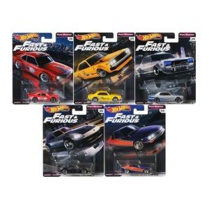 【予約受付中】(Hot Wheels)ワイルド・スピード アソート Fast Rewind プレミアムボックス 5台セット(8月発売)