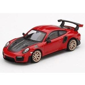 【予約受付中】(MINI GT)ポルシェ 911(991) GT2 RS レッド(左ハンドル)台湾限定(10月発売)