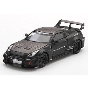 【予約受付中】(MINI GT)LB-Silhouette WORKS GT Nissan 35GT-RR バージョン1 マットブラック (左右ハンドル)中国限定(10月発売)