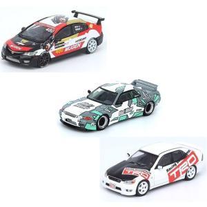 【予約受付中】(INNO MODELS)AE86 ブラック/GT-R (R32)/アルテッツァ スーパー耐久 2002/カローラ レビン インターテック(8月発売)