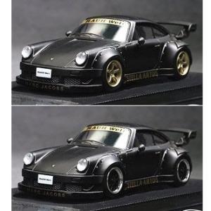 【予約受付中】(ModelCollect)RWB 930 Black ※Wheel: Gold/Black(10月発売)