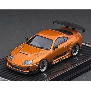 【予約受付中】(ignition model)Toyota Supra (JZA80) RZ Orange Metallic GReddy Ver.(9月発売)