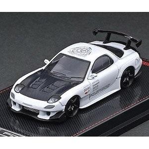 【予約受付中】(ignition model)Mazda RX-7 (FD3S) RE Amemiya White(12月発売)