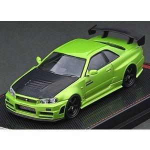 【予約受付中】(ignition model)Nismo R34 GT-R Z-tune Green Metallic(9月発売)